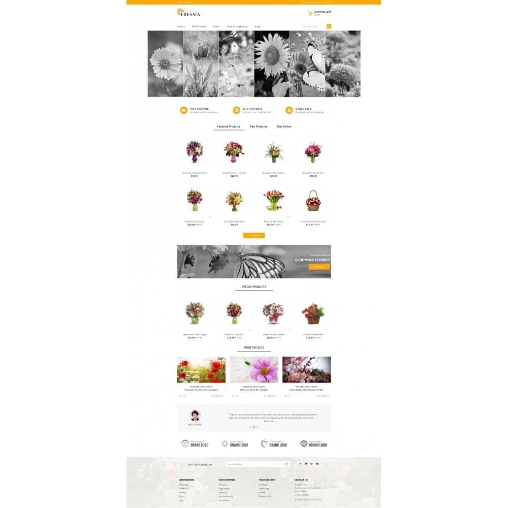 theme - Подарки, Цветы и праздничные товары - Fressia - Flower Store - 2