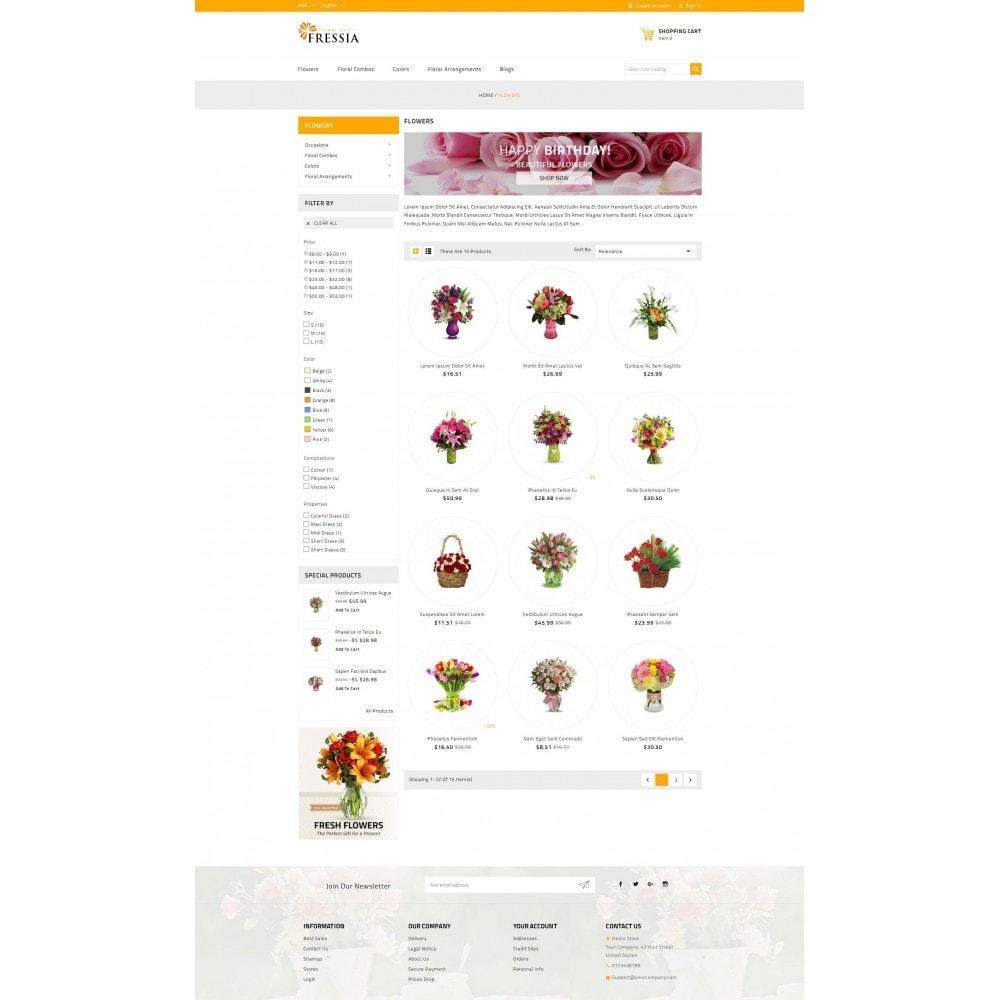 theme - Подарки, Цветы и праздничные товары - Fressia - Flower Store - 3