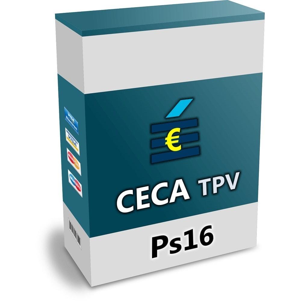 module - Pago con Tarjeta o Carteras digitales - CECA TPV Realizar pagos seguros con tarjeta de crédito - 1