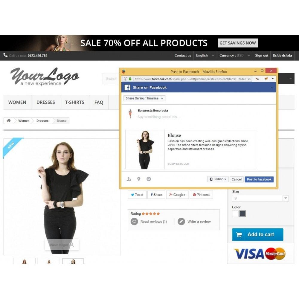module - Productos en Facebook & redes sociales - Open Graph Tags Social Networks - 2