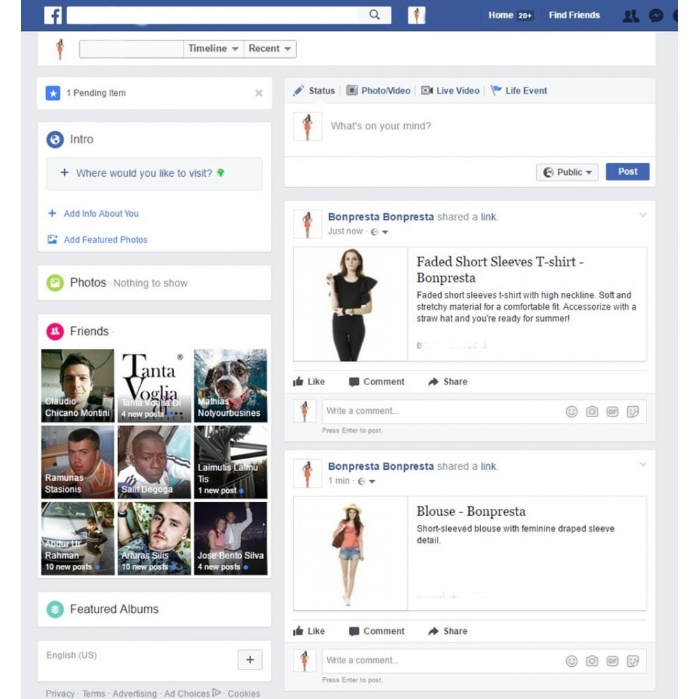 module - Produkten op Facebook & sociale netwerken - Advanced Open Graph Tags - 3