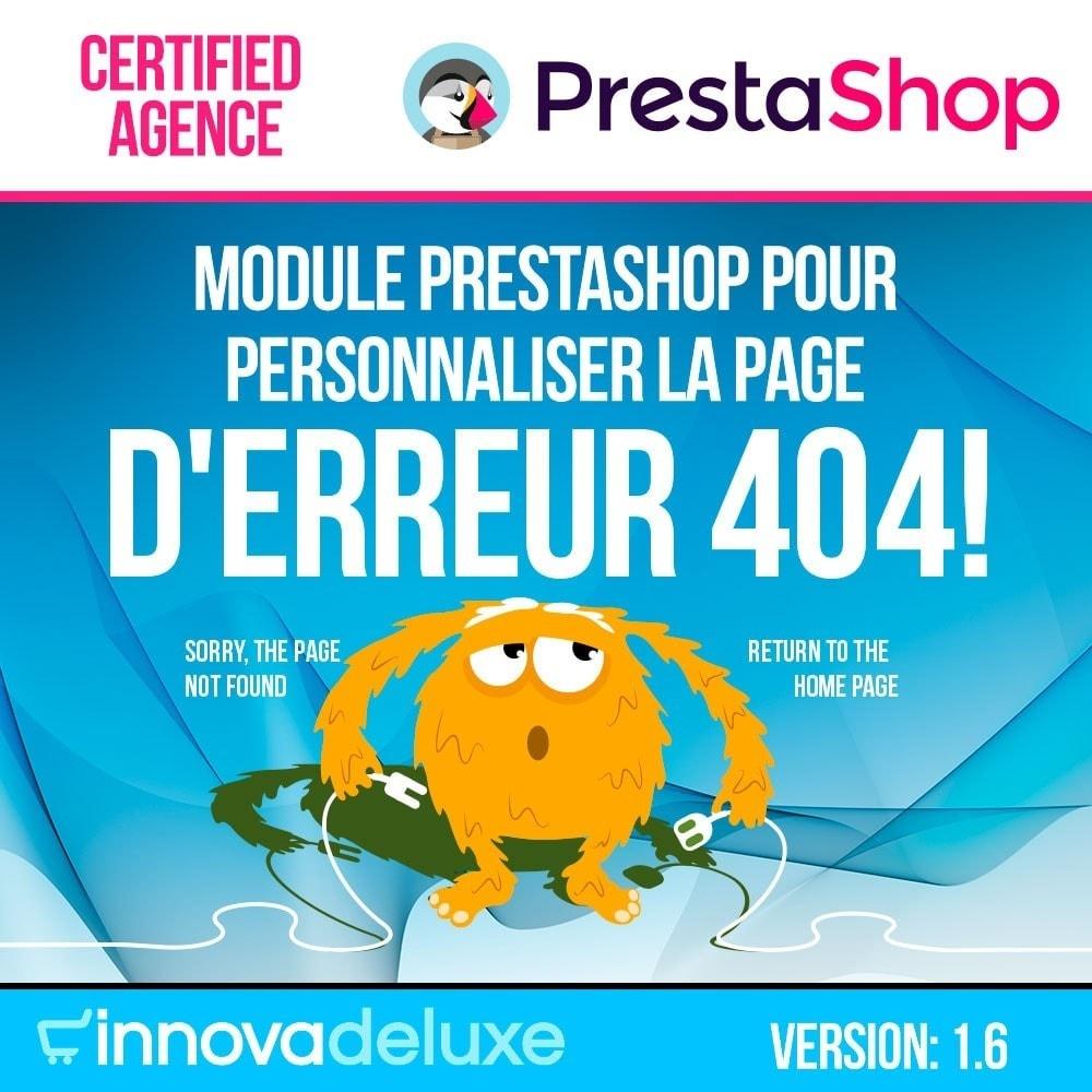 module - URL & Redirections - Personnalisation de la page d'erreur 404 - 1