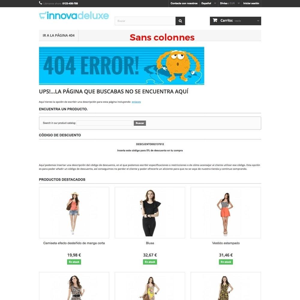module - URL & Redirections - Personnalisation de la page d'erreur 404 - 15