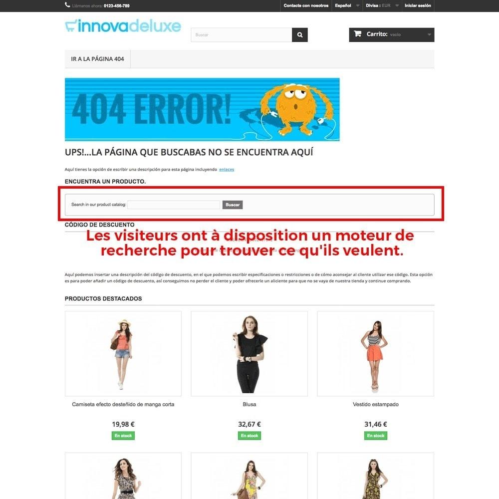 module - URL & Redirections - Personnalisation de la page d'erreur 404 - 27