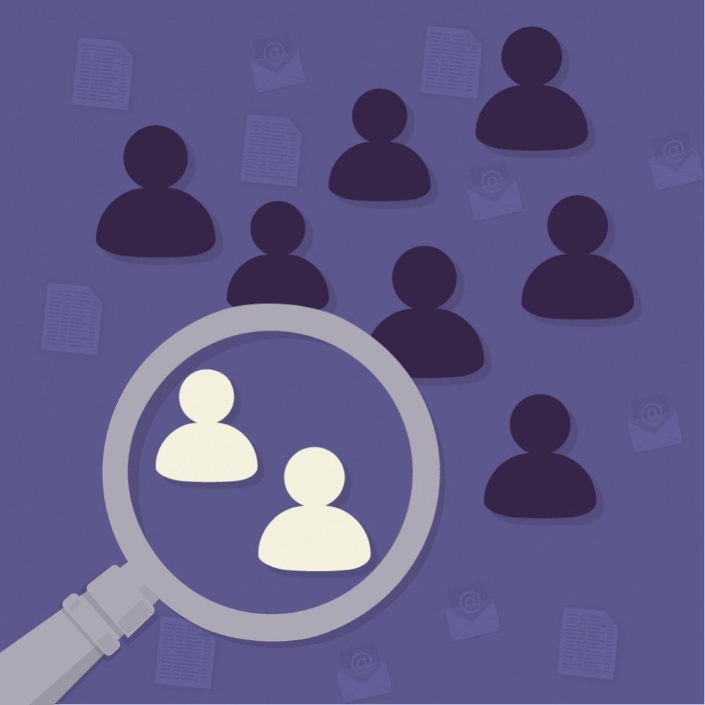module - Import & Export de données - Export Remarketing (Segmentation Client) - 1