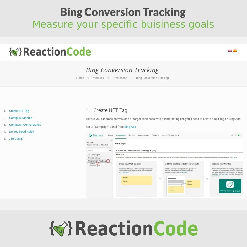 module - Analyses & Statistiques - Bing Conversion Tracking - 5