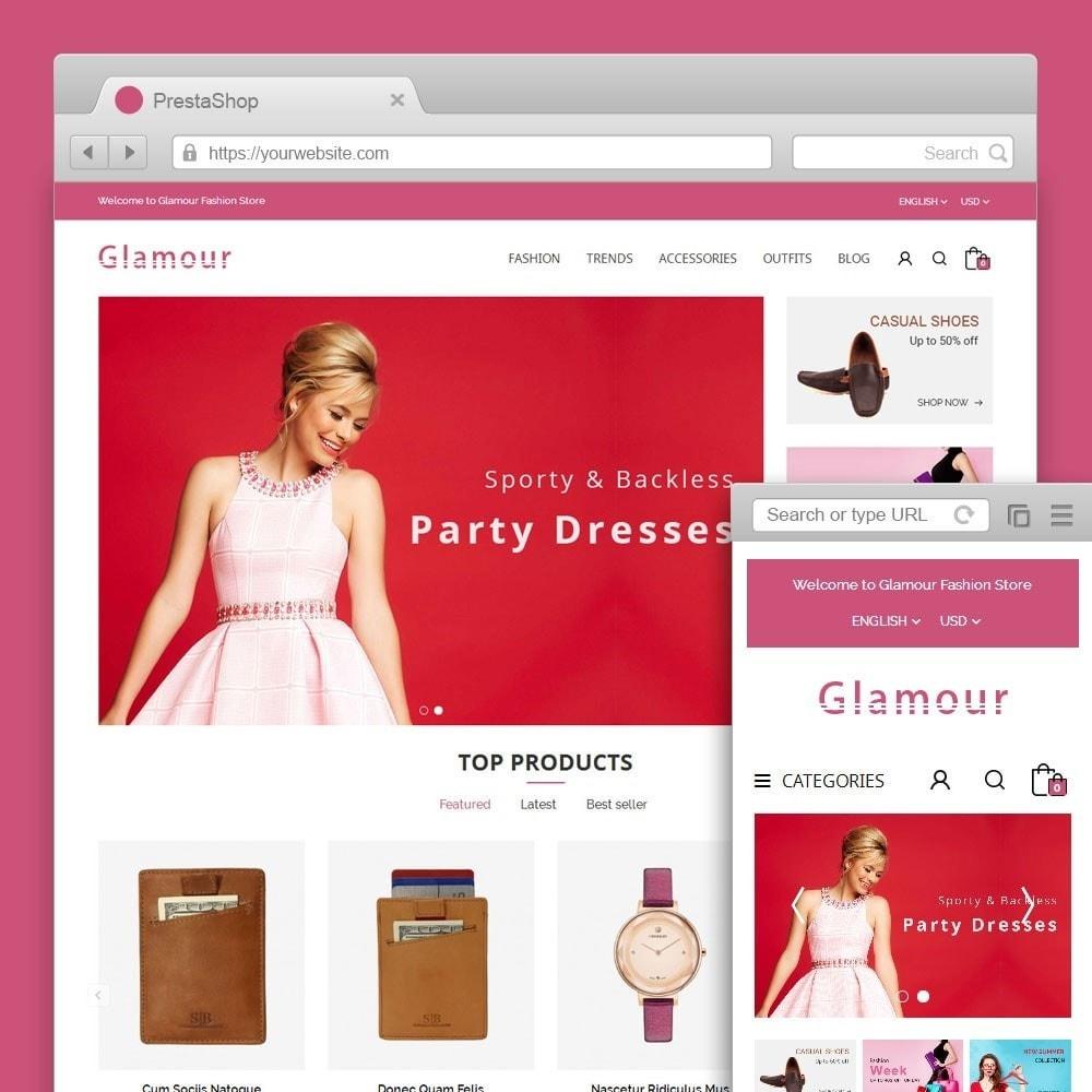 theme - Moda & Calçados - Glamour Fashion Store - 1