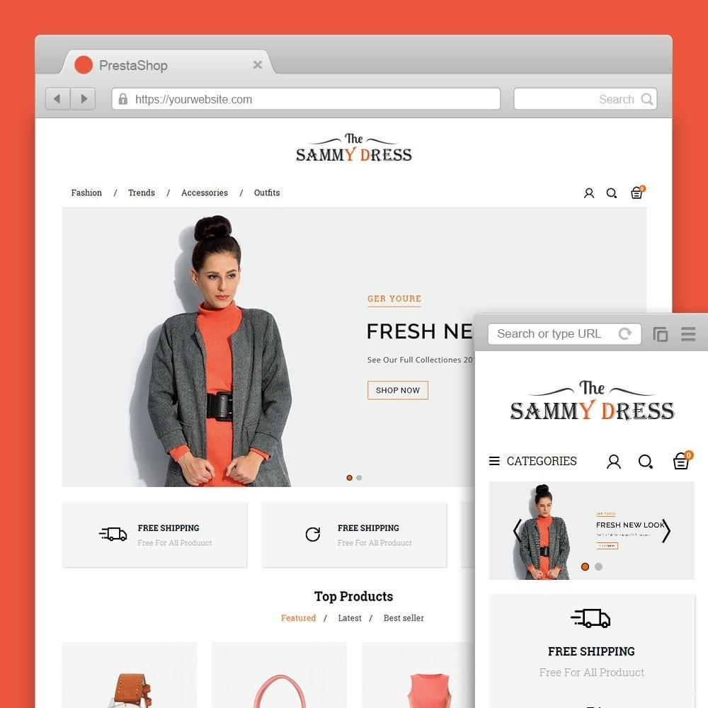 theme - Mode & Schuhe - The Sammy Dress Store - 1