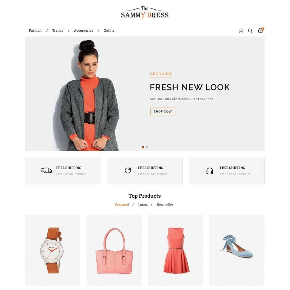 theme - Мода и обувь - The Sammy Dress Store - 2