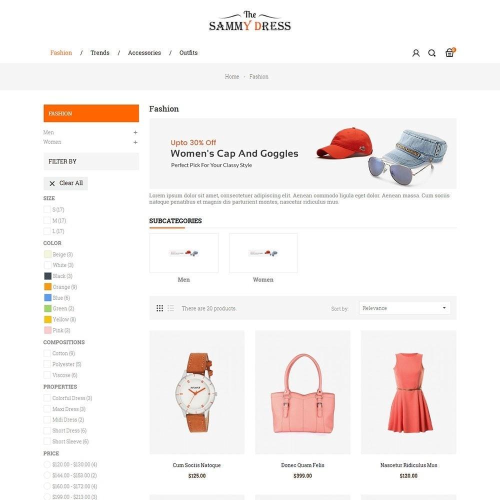 theme - Мода и обувь - The Sammy Dress Store - 4