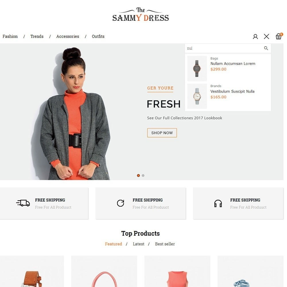 theme - Мода и обувь - The Sammy Dress Store - 6