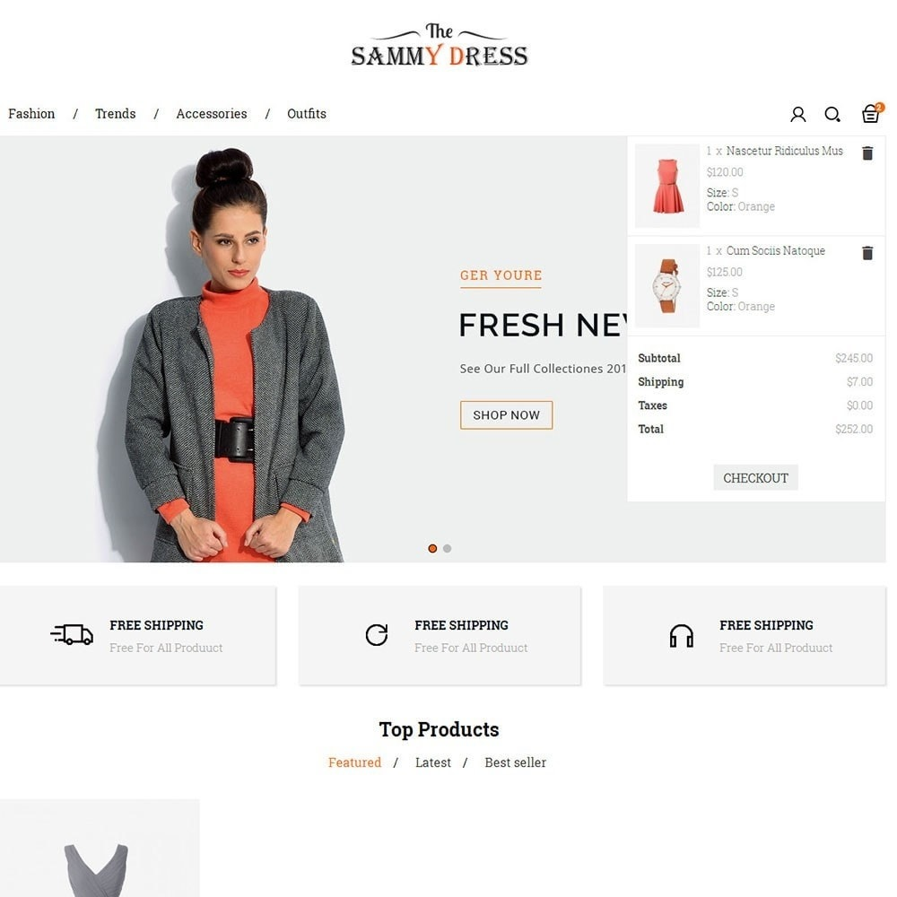 theme - Mode & Schuhe - The Sammy Dress Store - 7