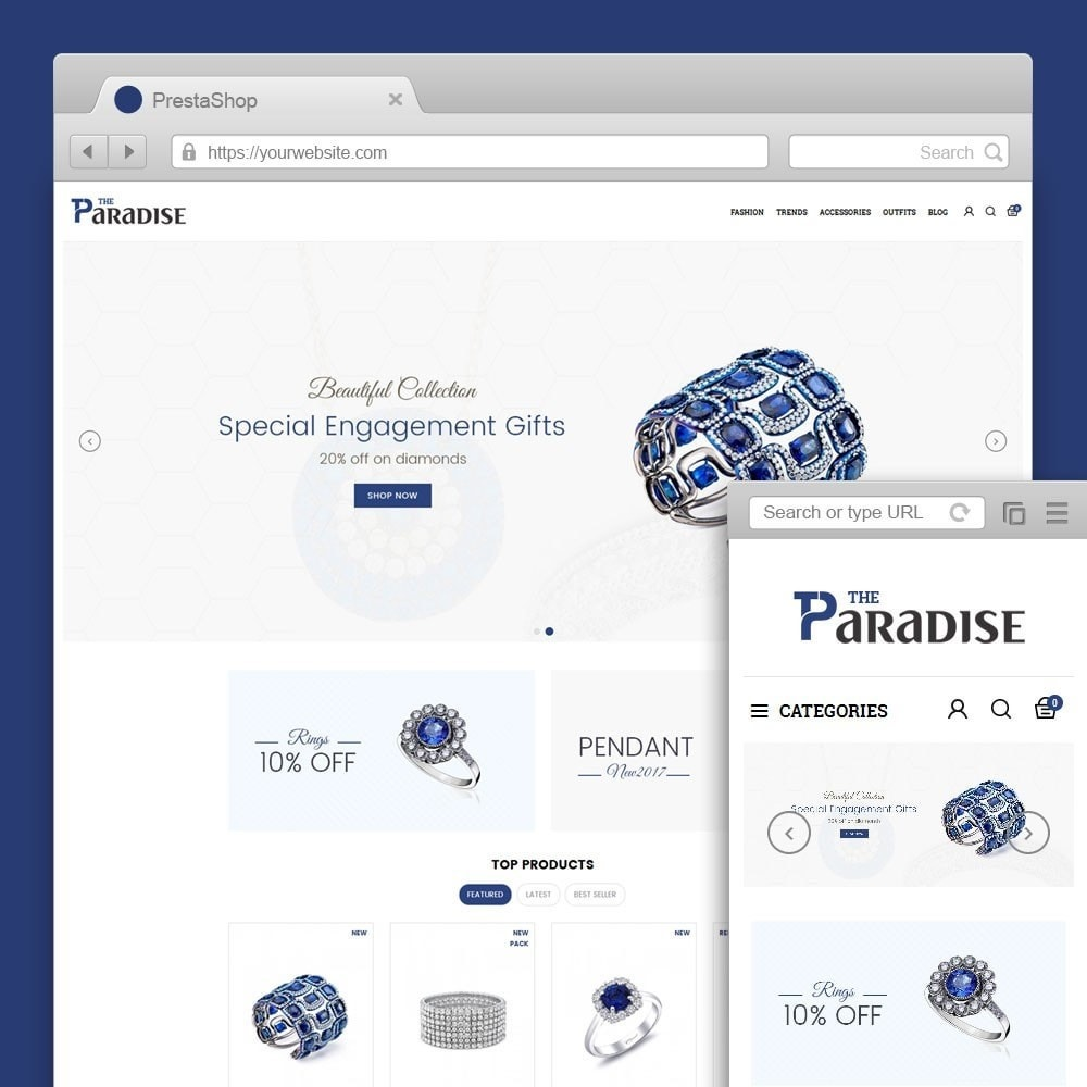 theme - Sieraden & Accessoires - Paradise Jewellery Store - 1