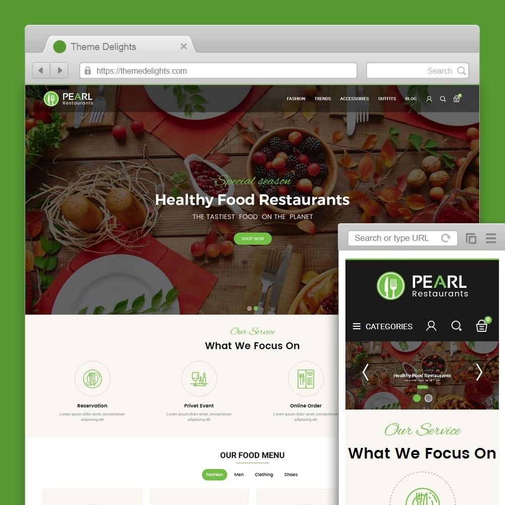 theme - Alimentation & Restauration - Pearl Food Store - 1