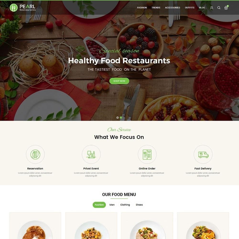 theme - Alimentation & Restauration - Pearl Food Store - 2