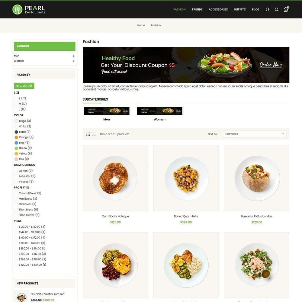 theme - Alimentation & Restauration - Pearl Food Store - 3