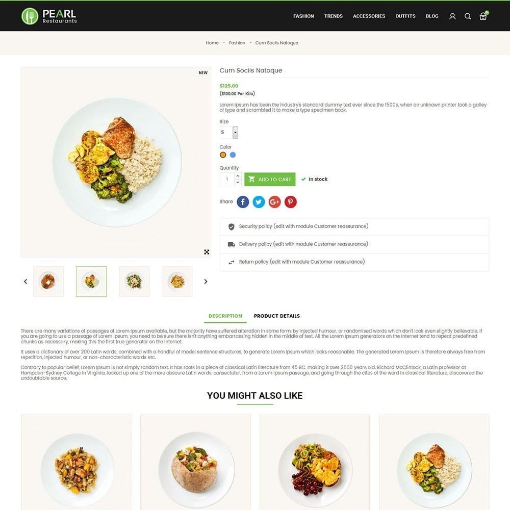 theme - Alimentation & Restauration - Pearl Food Store - 5