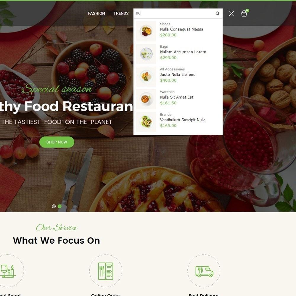 theme - Alimentation & Restauration - Pearl Food Store - 7