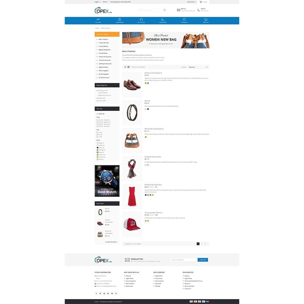 theme - Электроника и компьютеры - Opex Mega Store - 5