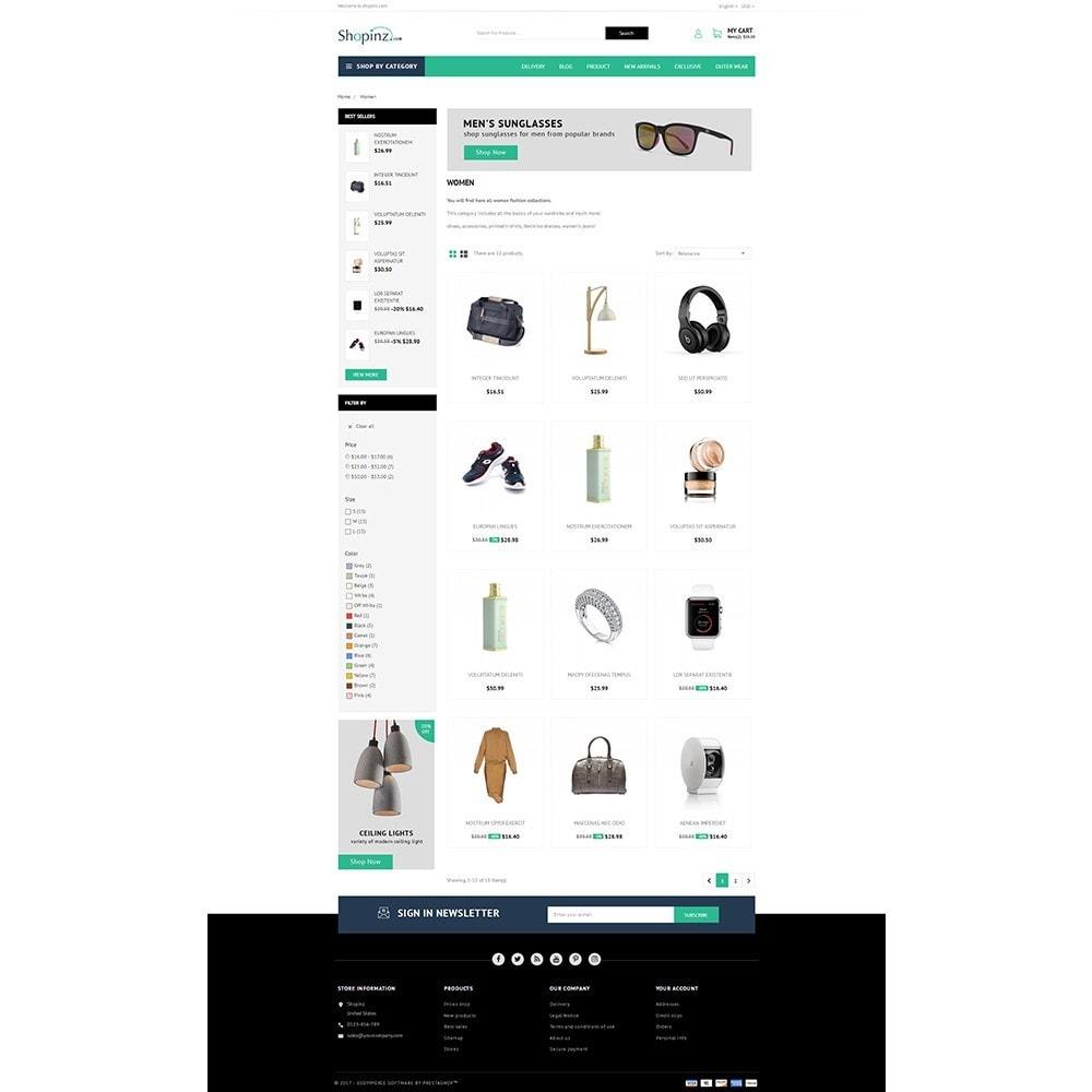 theme - Mode & Chaussures - Shopinz MultiStore - 3