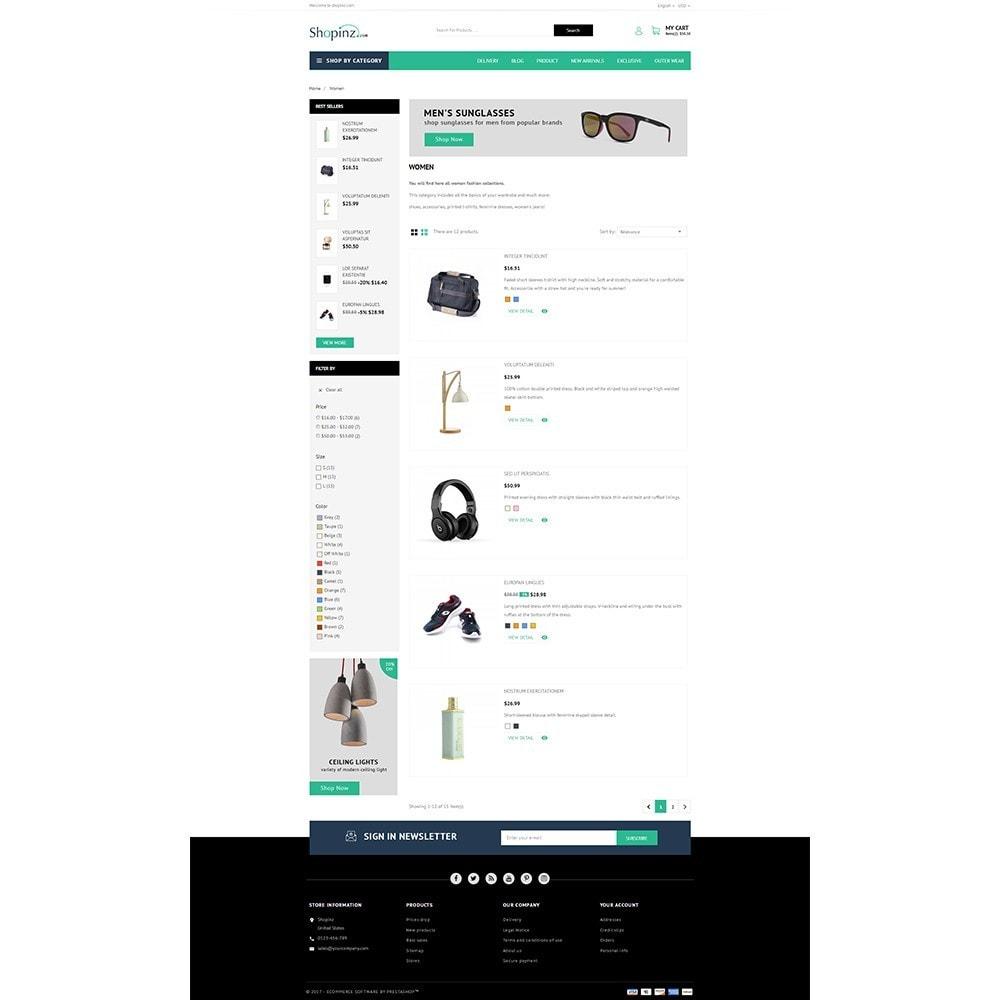 theme - Mode & Chaussures - Shopinz MultiStore - 4