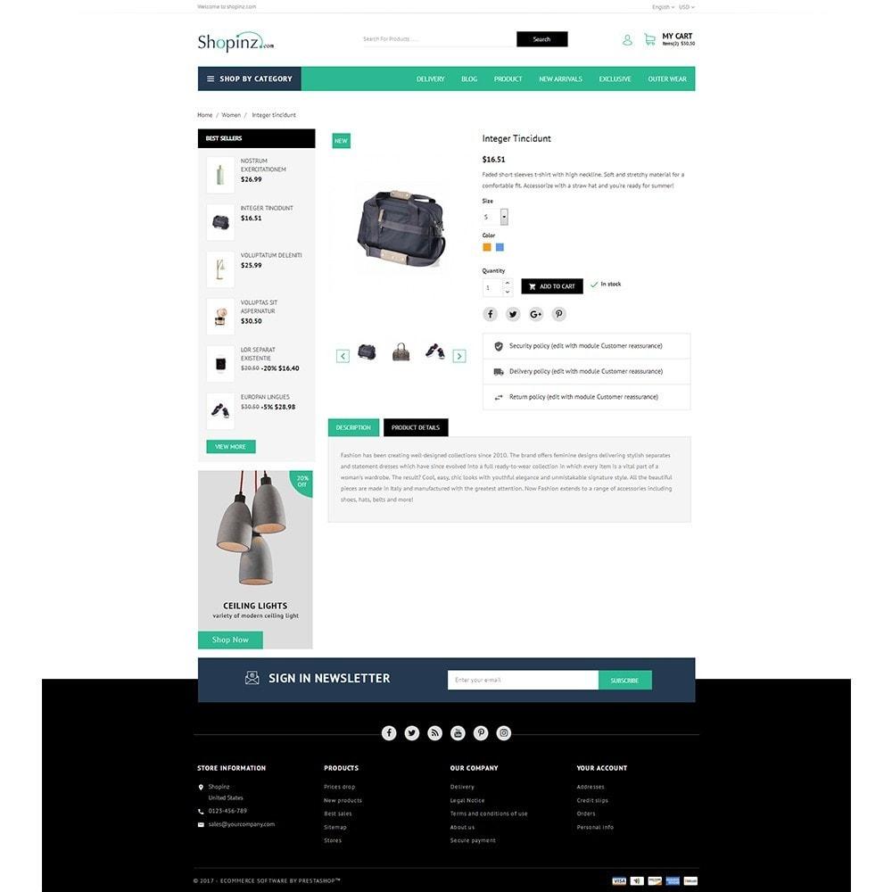 theme - Mode & Chaussures - Shopinz MultiStore - 5
