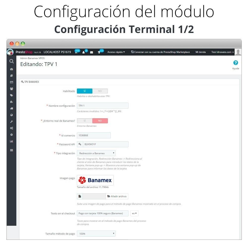 module - Pagamento por cartão ou por carteira - Banamex card payment - 3