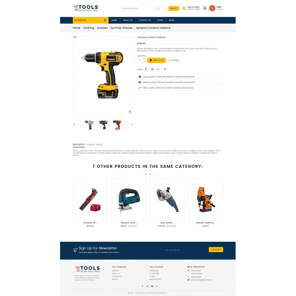 theme - Elektronica & High Tech - Mega Tools Store - 5
