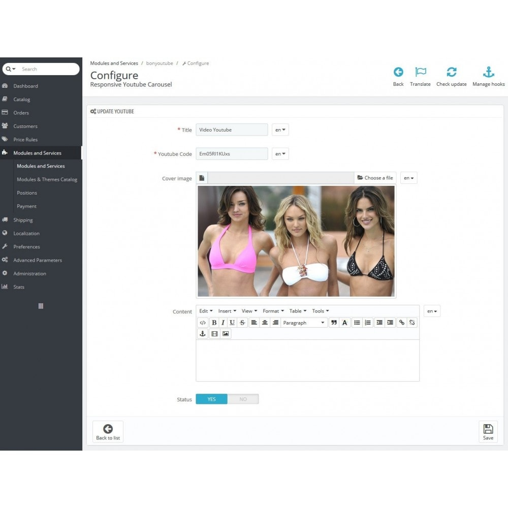 module - Slider & Gallerie - Advanced Youtube Video Slider & Gallerie - 6