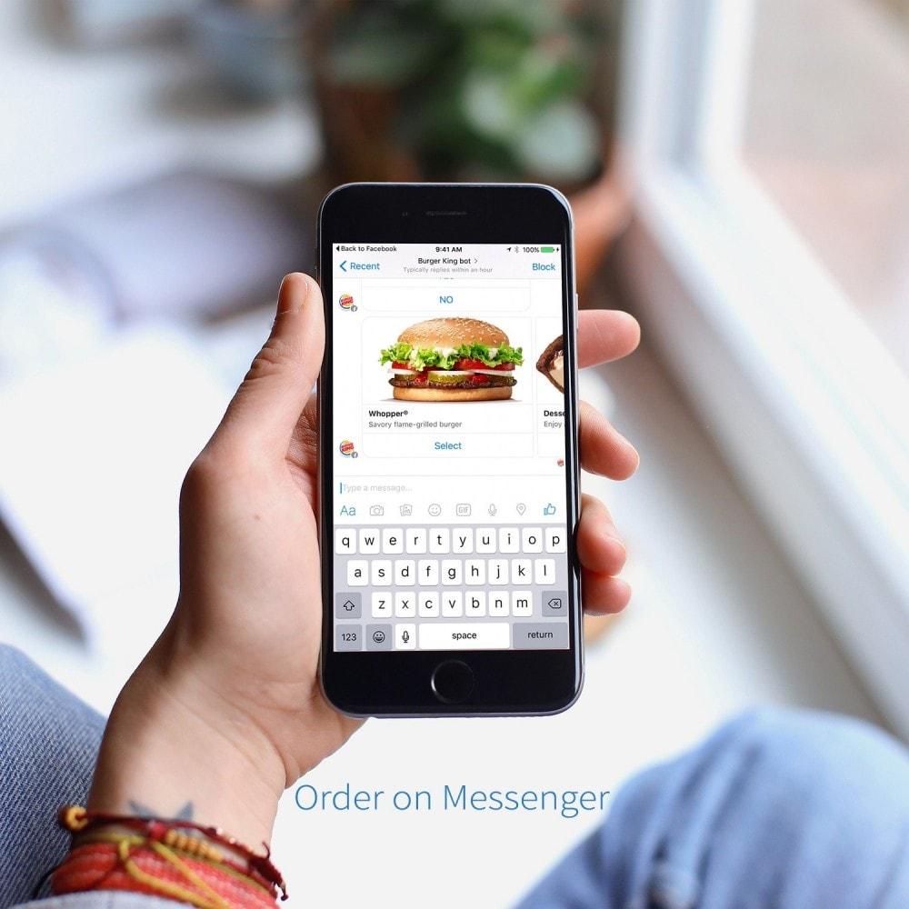 module - Zarządzanie zamówieniami - Zamów na Messenger - 2