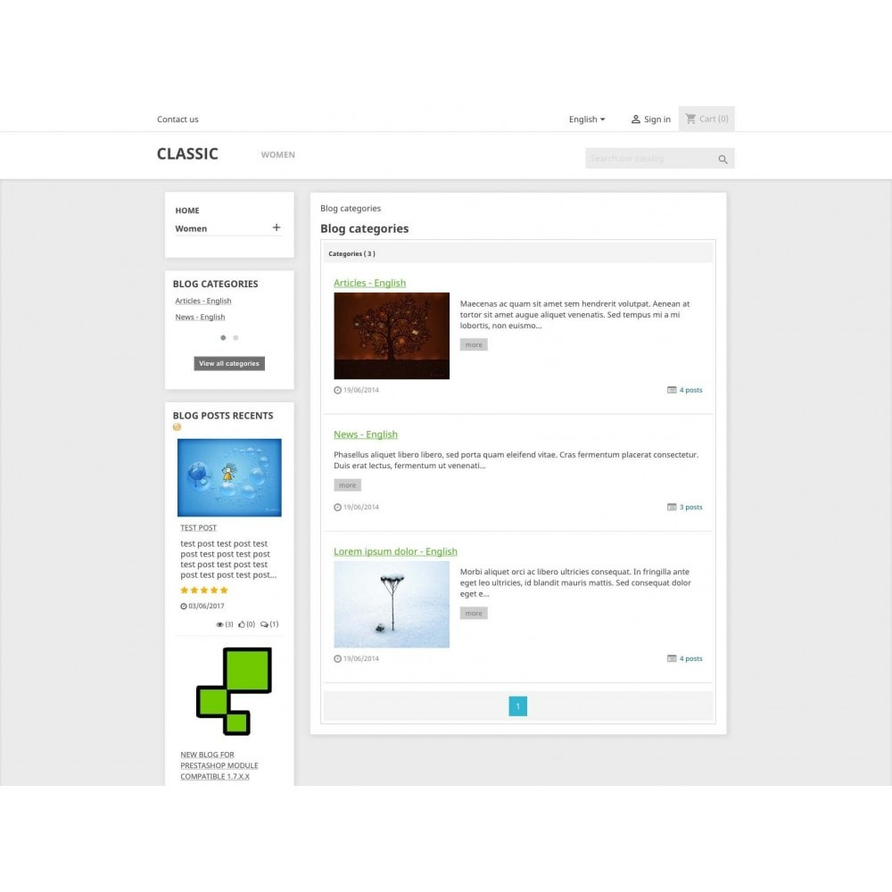 module - Blog, Forum & News - Blog PRO - 3