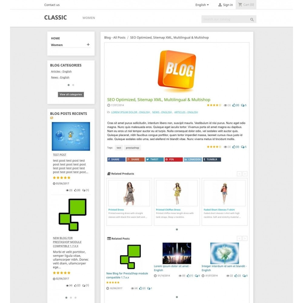 module - Blog, Forum & News - Blog PRO - 7