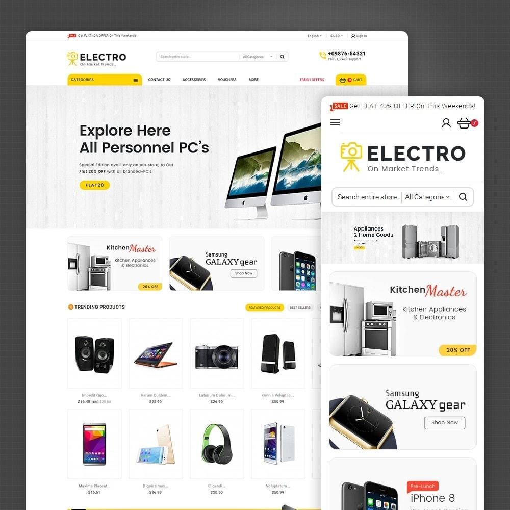 theme - Electrónica e High Tech - Mega Electronics Store - 1