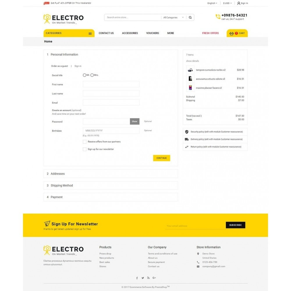theme - Elektronica & High Tech - Mega Electronics Store - 7