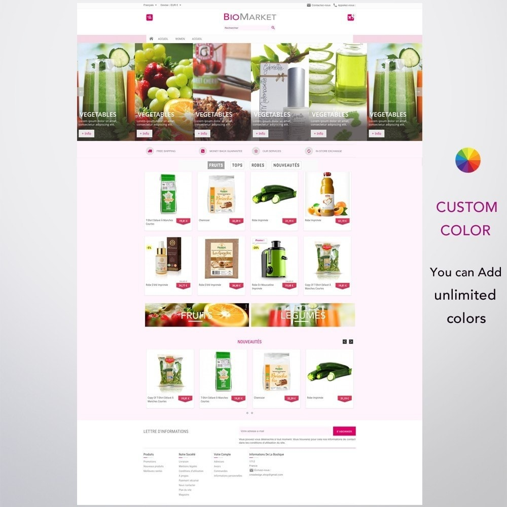 theme - Health & Beauty - Bio Market - 2