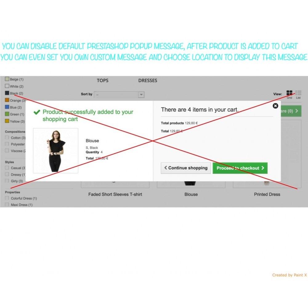 module - Anmeldung und Bestellvorgang - Effekt des Warenflugs, Pop-up zu und andere Animationen - 2