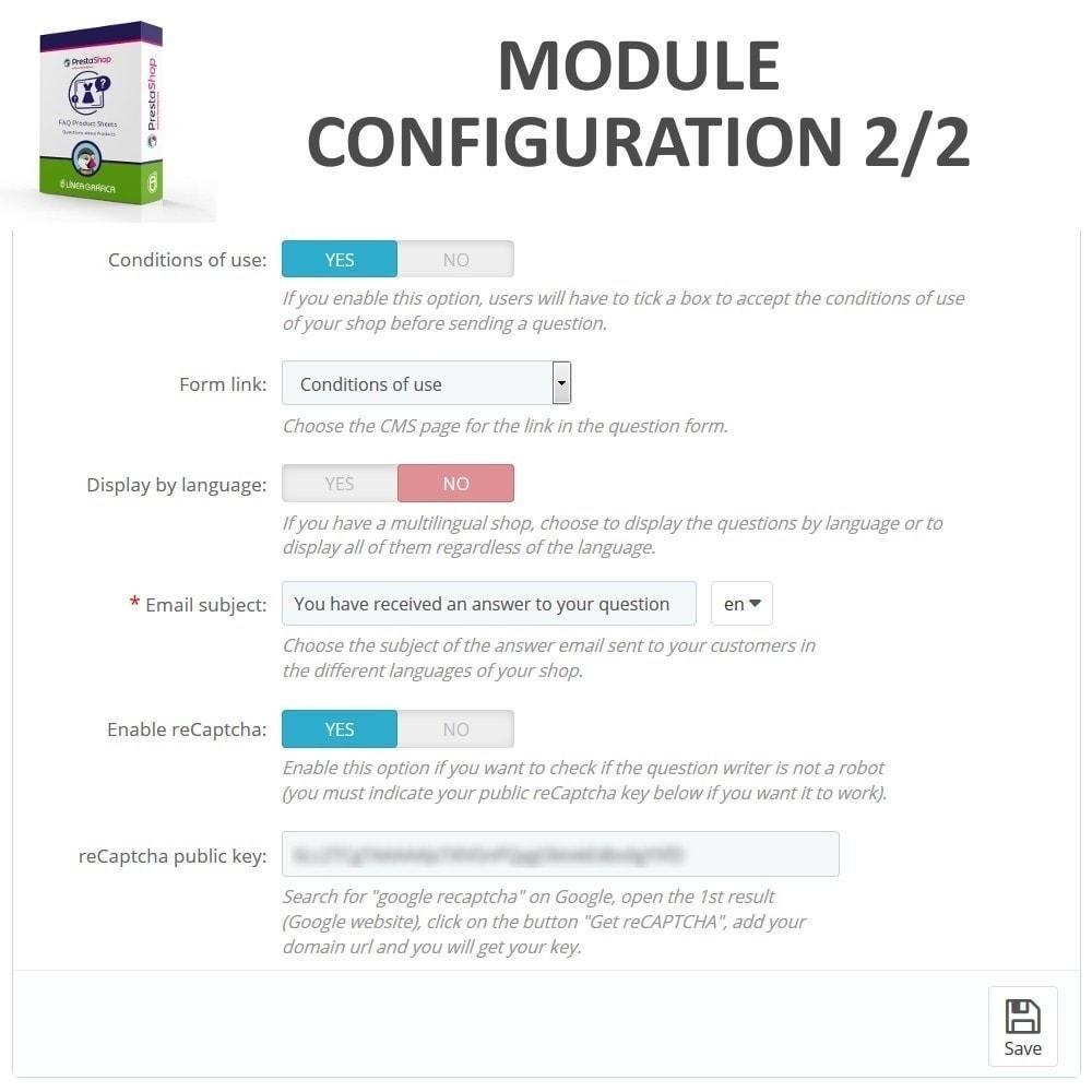 module - FAQ (Häufig gestellte Fragen) - FAQ Produktblätter - Häufig gestellte Fragen - 3
