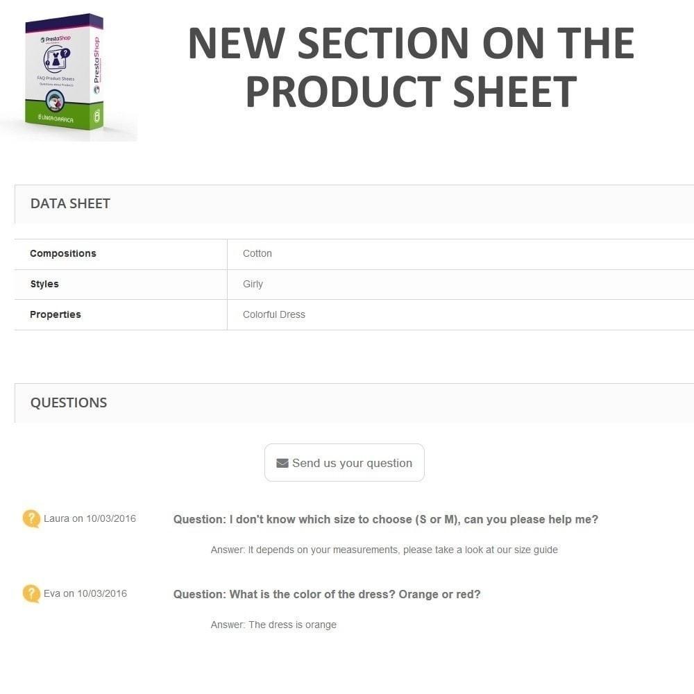 module - FAQ (Domande Frequenti) - FAQ Schede prodotti - Domande frequenti - 5