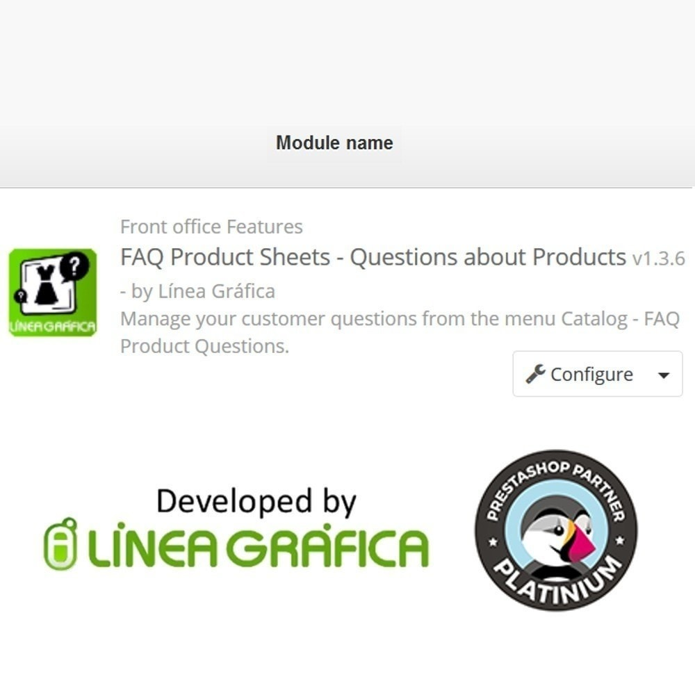 module - FAQ (Domande Frequenti) - FAQ Schede prodotti - Domande frequenti - 14