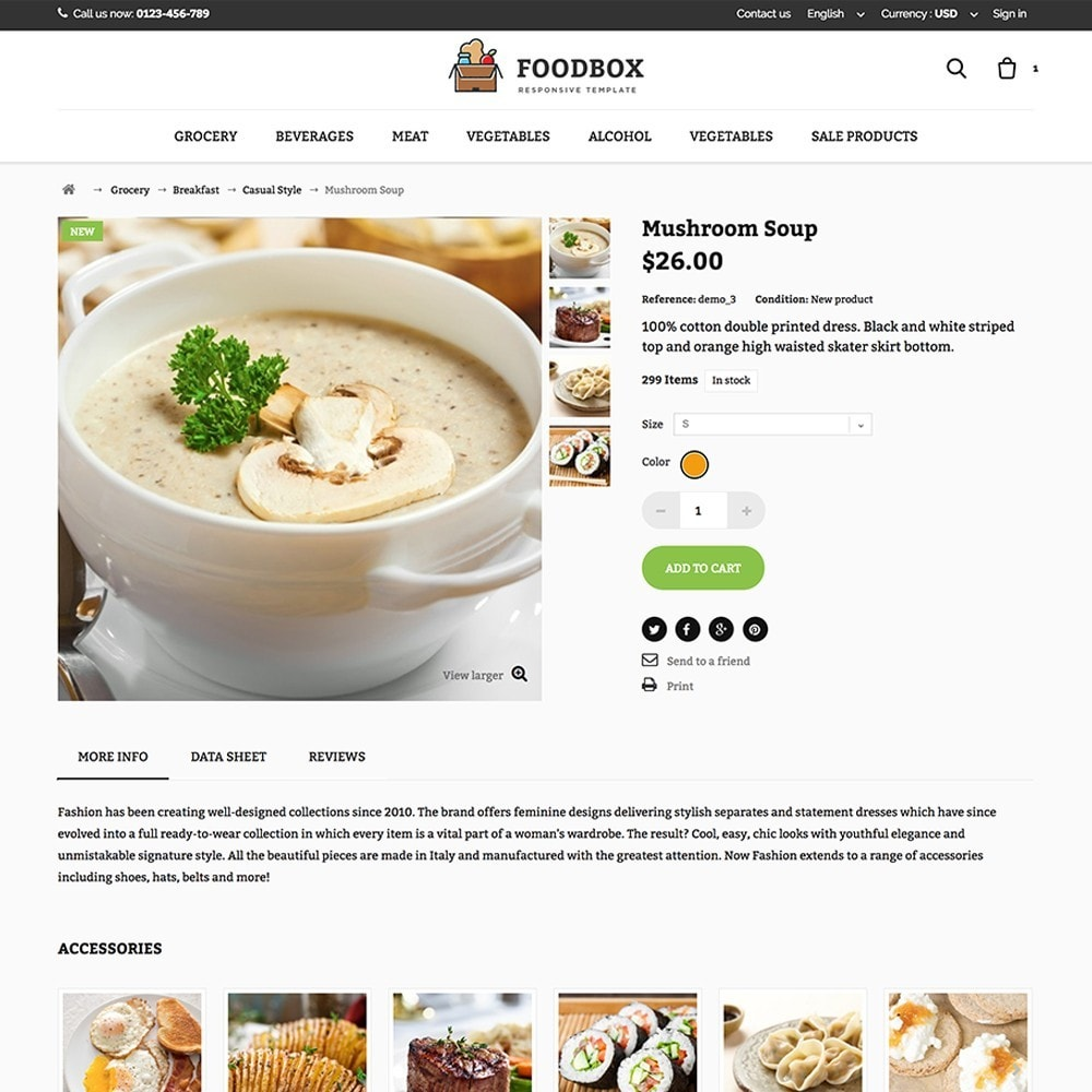 theme - Lebensmittel & Restaurants - Foodbox - 4