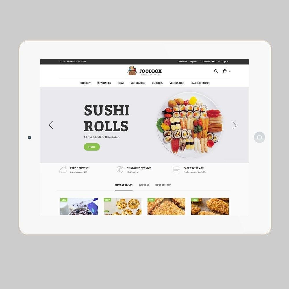 theme - Lebensmittel & Restaurants - Foodbox - 7