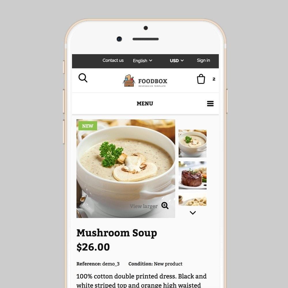 theme - Lebensmittel & Restaurants - Foodbox - 8