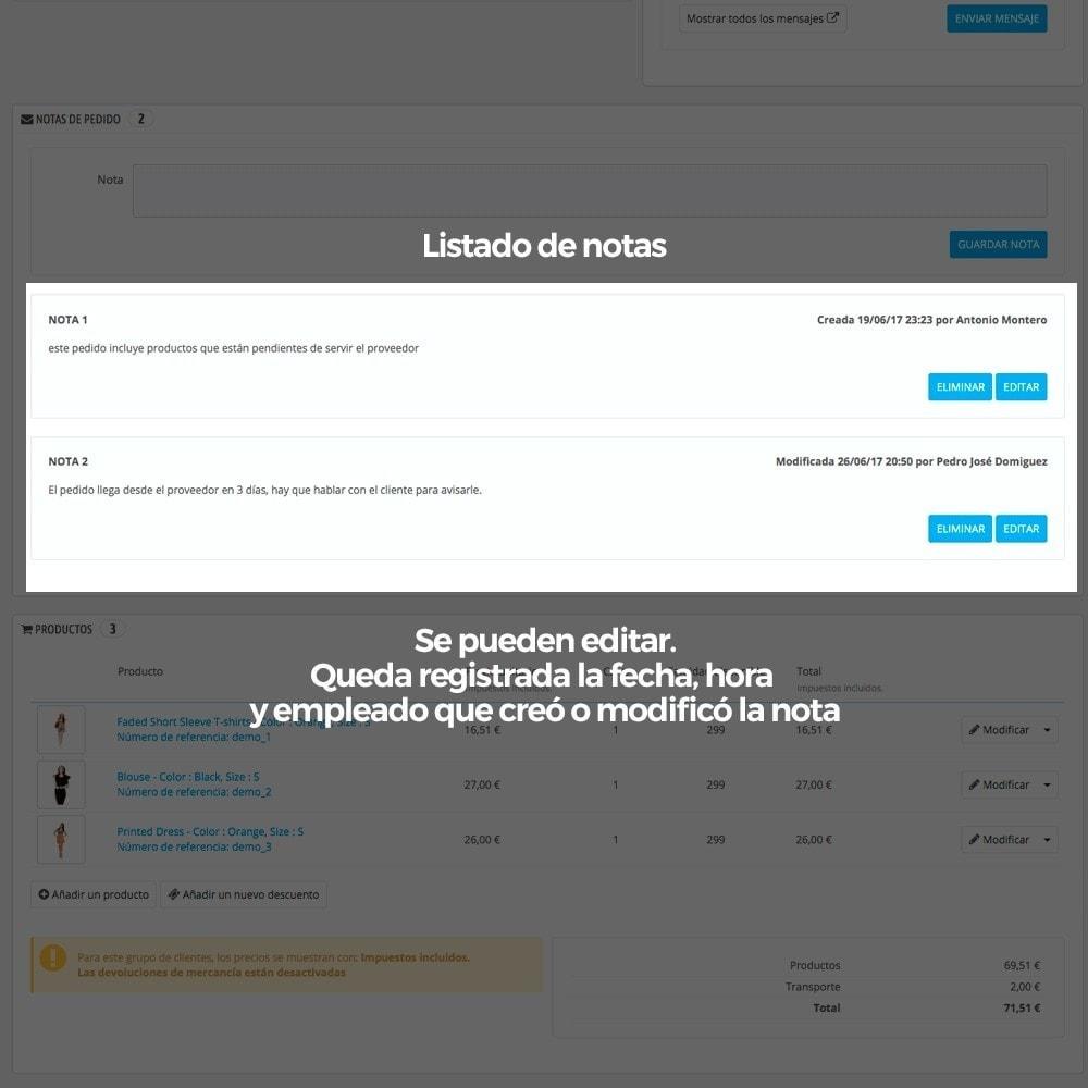 module - Gestión de Pedidos - Notas privadas del administrador en los pedidos - 5