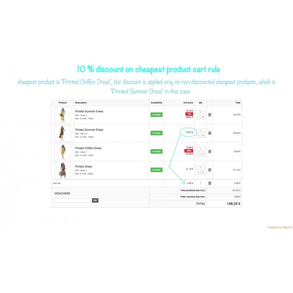 module - Promotion & Geschenke - Non-Kumulierte Warenkorbrabatte mit anderen Rabatten - 3