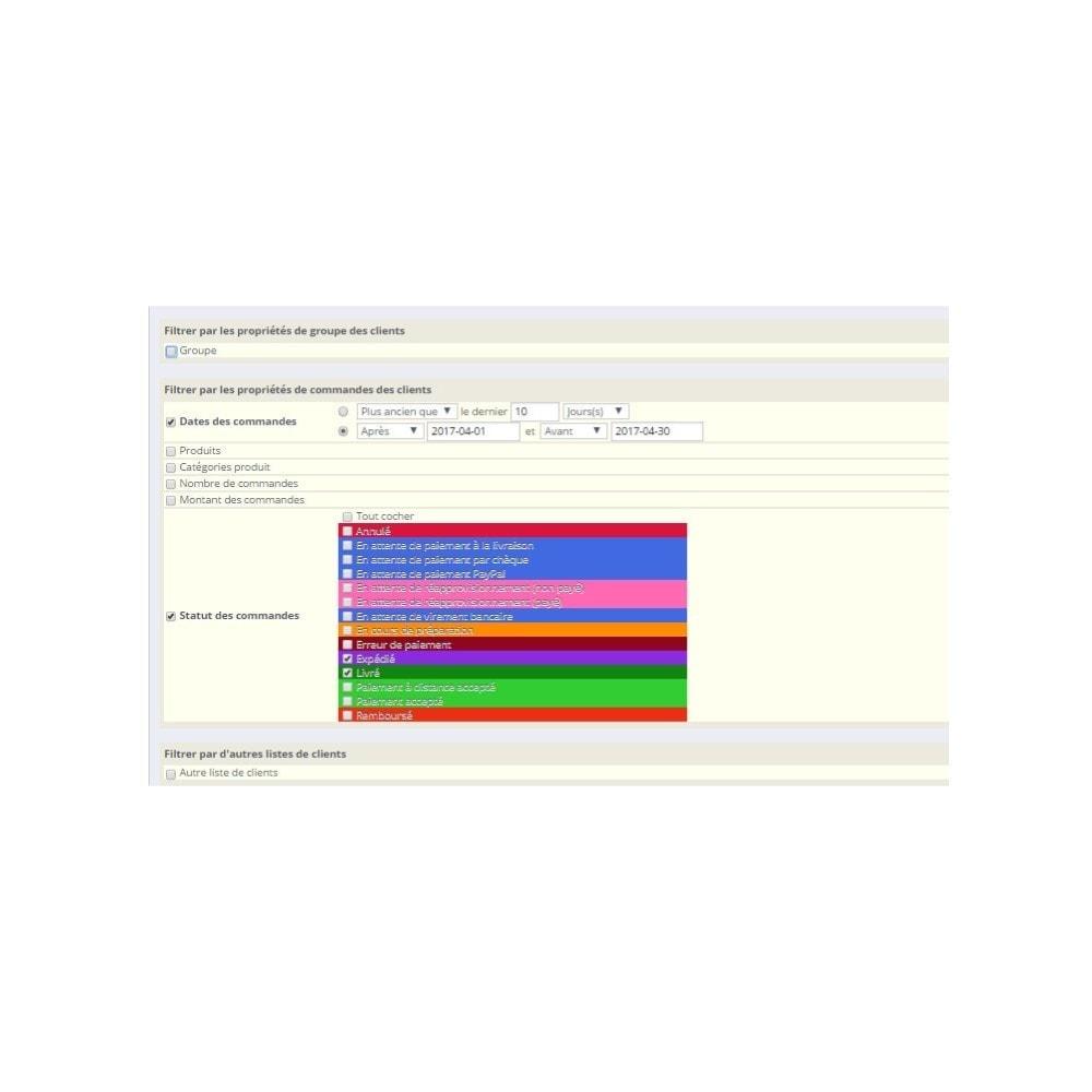 module - Import & Export de données - Export clients - 3