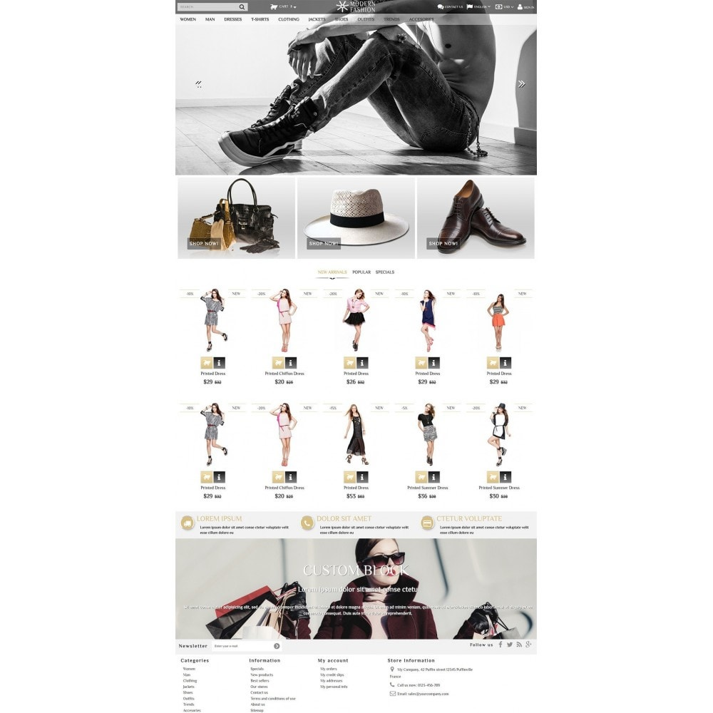 theme - Moda & Calzature - Modern Fashion - 2