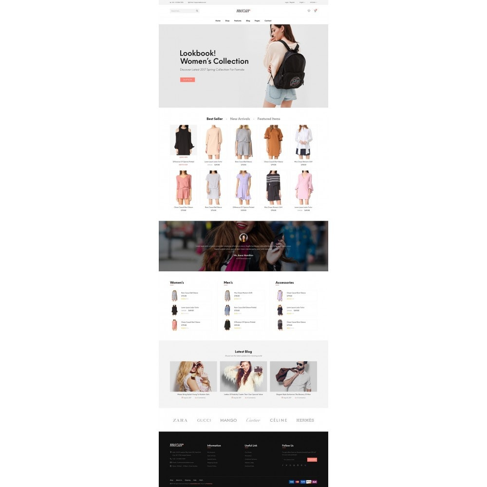theme - Fashion & Shoes - JMS Mozar - 8
