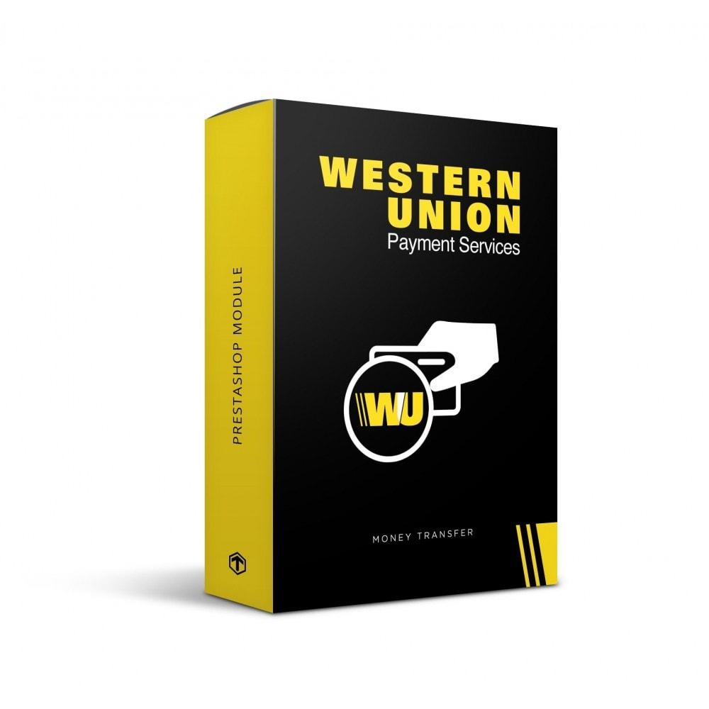 module - Оплата банковской картой или с помощью электронного кошелька - Western Union with Online Payment button - 1