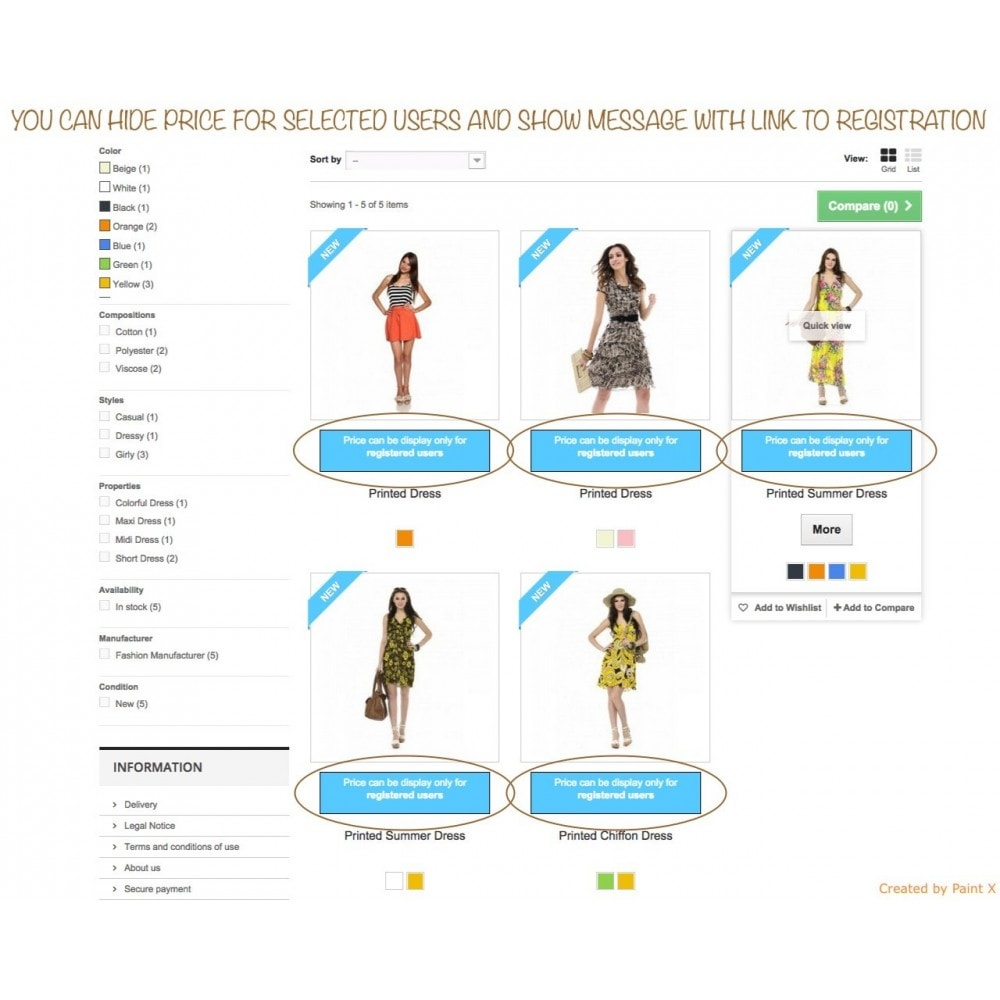module - Gestione clienti - Nascondere prezzi per utenti non autorizzati B2B - 1