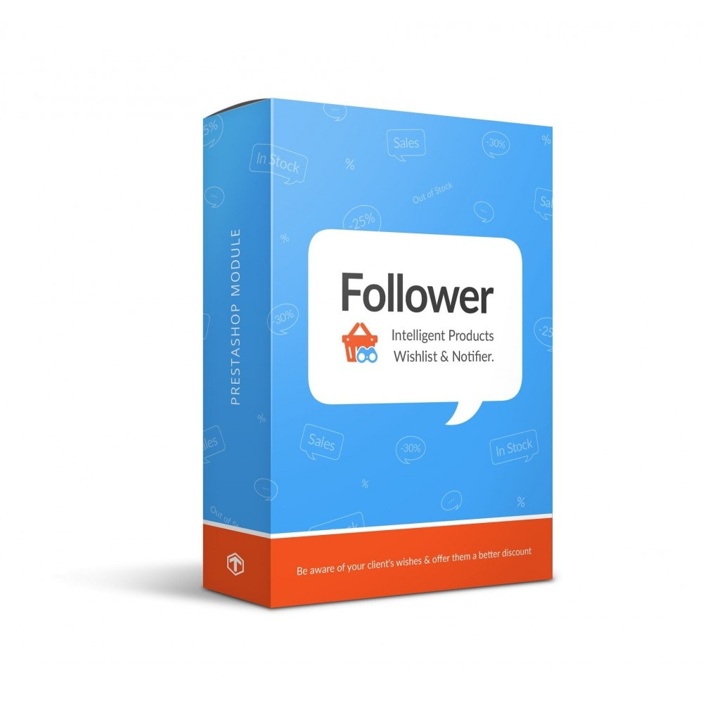 module - электронные письма и уведомления - Follower - Products Wishlist and Notifier (with GDPR) - 1